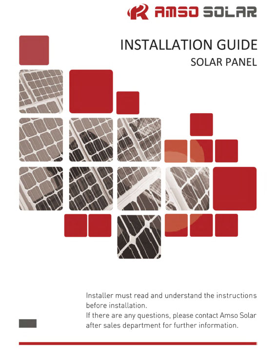 Amso Solar Installation Manual